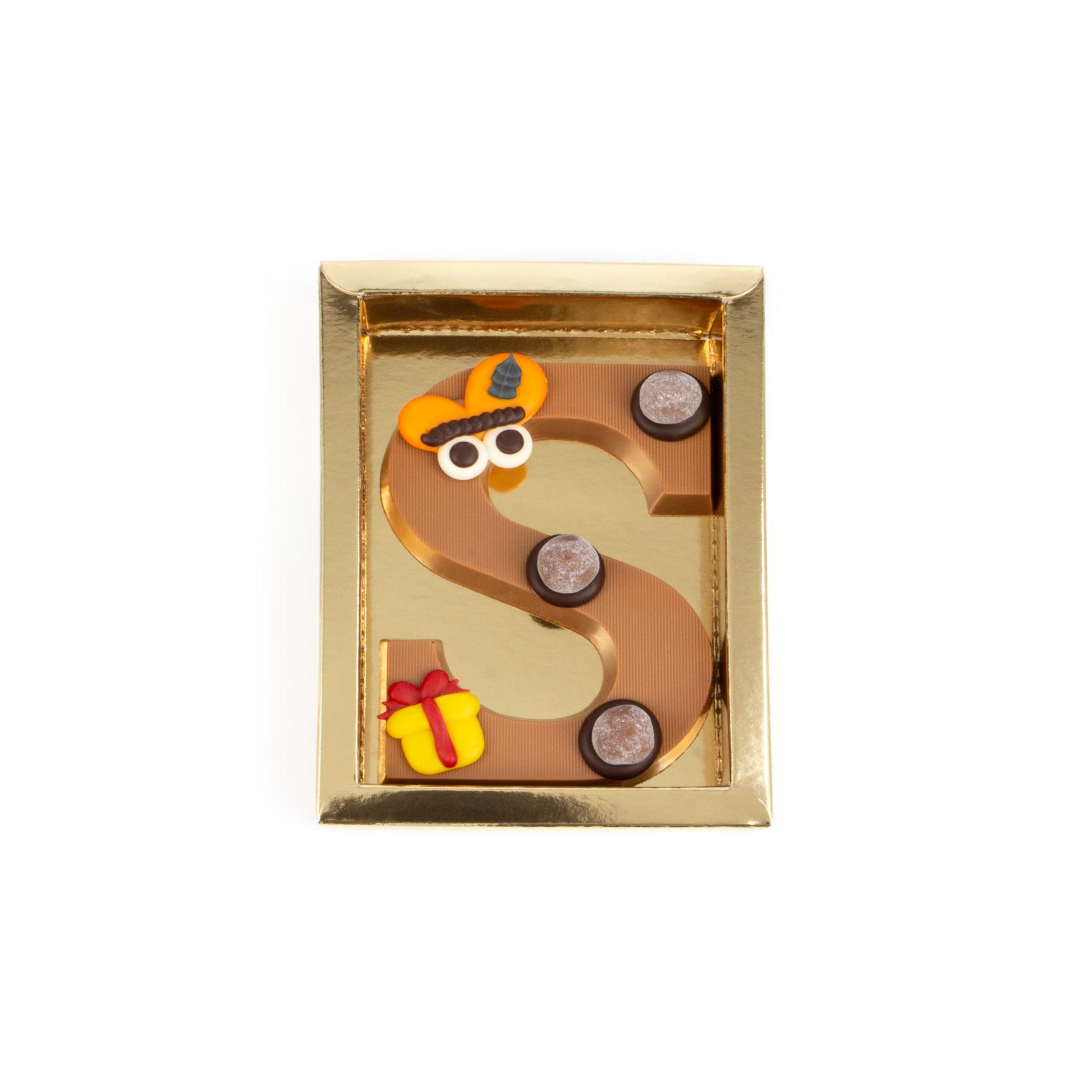 Chocolade Letter S - Piet Melk Klein