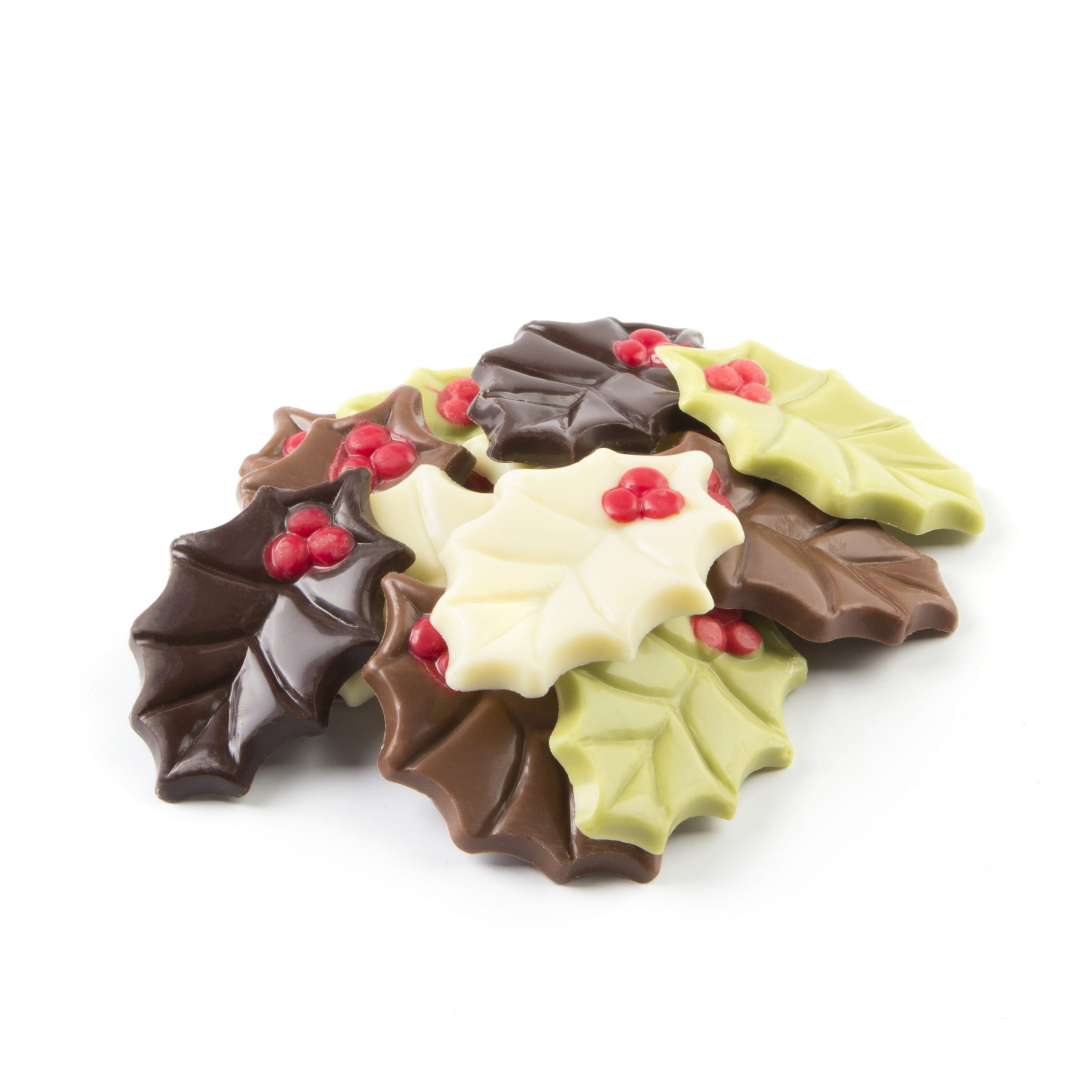 Kerst Chocolade - Hulsblaadjes