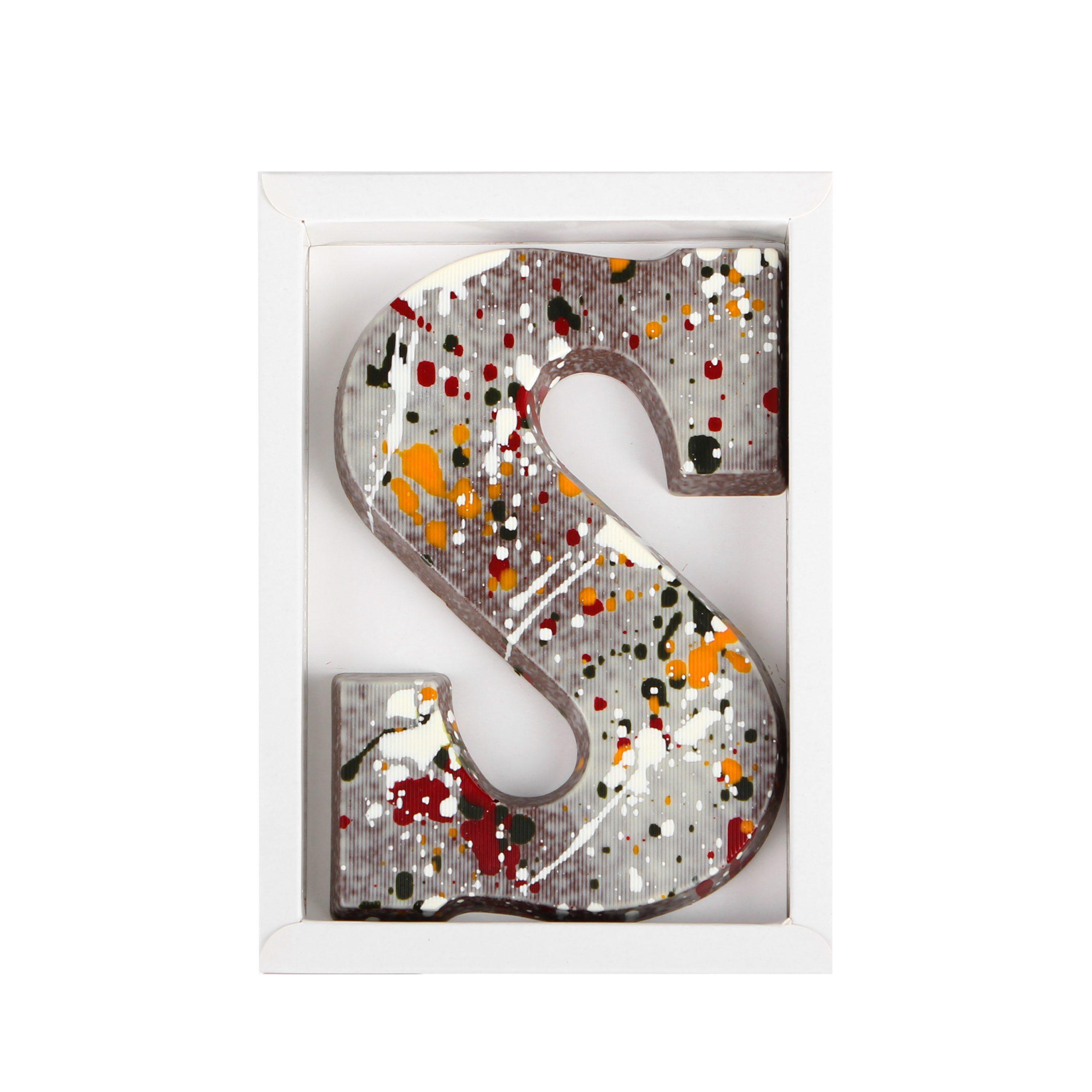 Letter S - Art Zilver Puur