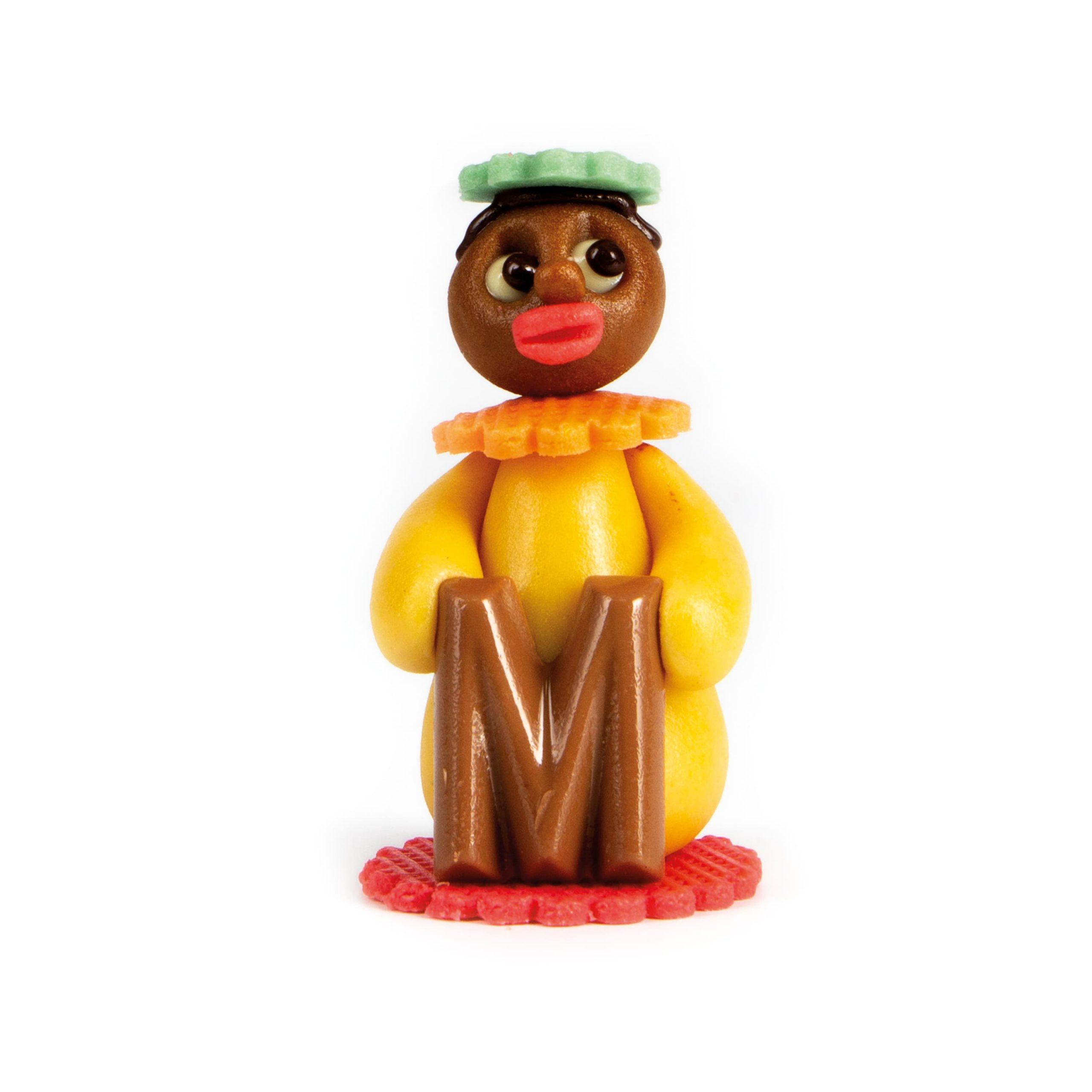 Marsepein Sint en Pietjes - Piet met Letter