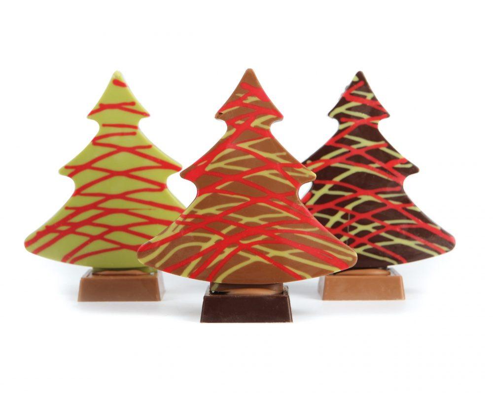 Kerst Bomen - Kerstboom met Slingers